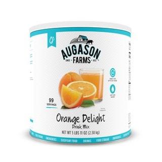 Augason Farms Orange Delight Drink Mix 91 oz #10 Can