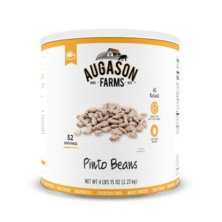Augason Farms Pinto Beans 79 oz #10 Can