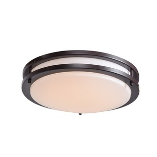 Access Lighting Solero CFL 12-inch Bronze Flush Mount with Acrylic Lens Diffuser