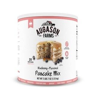 Augason Farms Blueberry Pancake Mix 55 oz No. 10 Can