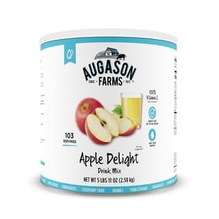 Augason Farms Apple Delight Drink Mix 91 oz #10 Can https://ak1.ostkcdn.com/images/products/16048894/P22437474.jpg?impolicy=medium