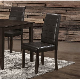 Brown Solid Wood Dining Chairs