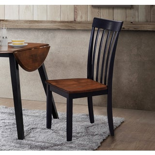 Slat-back Dining Chairs (Set of 2)