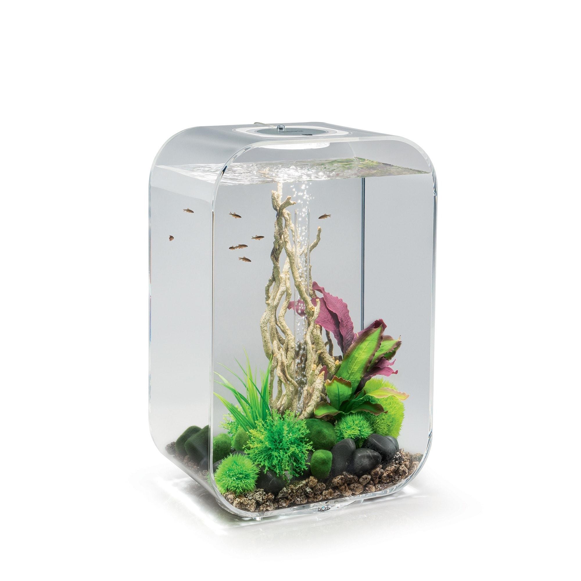 biOrb Life 45 Clear Aquarium (Life 45 MCR Clear), Size 11...