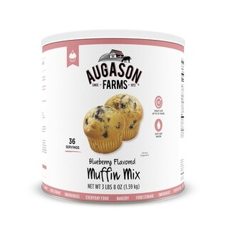 Augason Farms Blueberry Muffin Mix 56 oz No. 10 Can