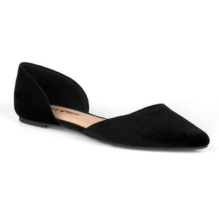 Mark and Maddux Devin-01 Pointed toe Women's Slip On Flats