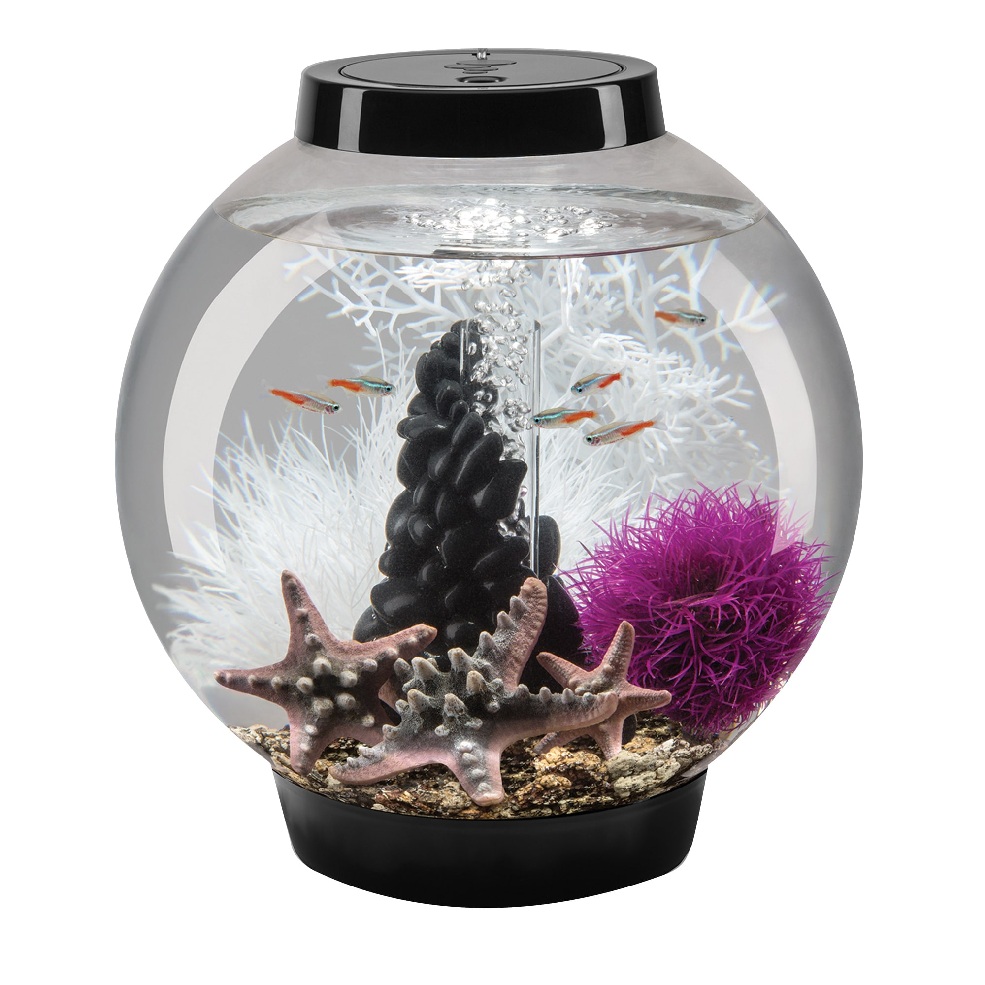 biOrb Classic Black 15 Aquarium (Black), Size Up to 10 Ga...