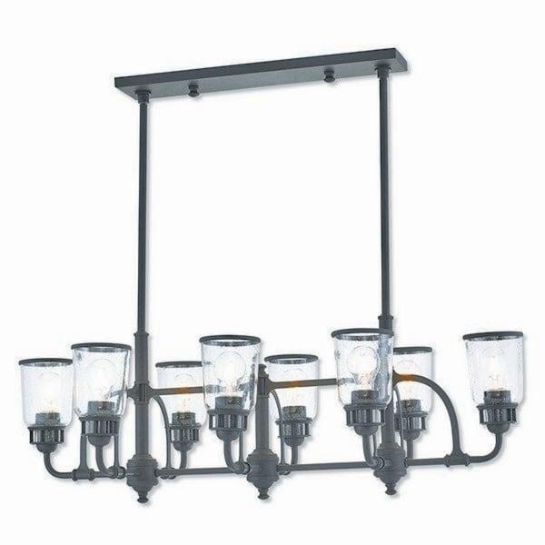 Livex Lighting 40028-07 Lawrenceville Bronze 8-light Indoor Chandelier