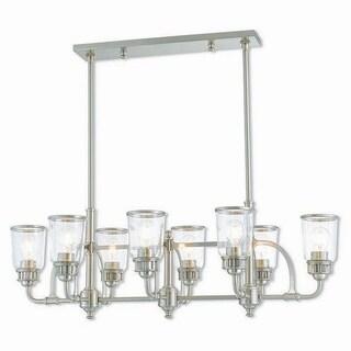 Livex Lighting Lawrenceville 8-light Brushed Nickel Indoor Chandelier