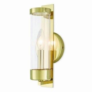 Livex Lighting 10141-02 Castleton Polished Brass 1-light Wall Sconce