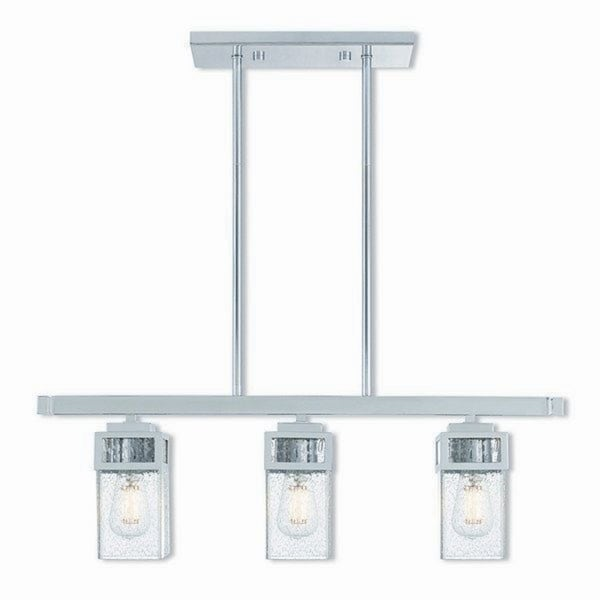 Livex Lighting Harding Polished Chrome 3-light Indoor Chandelier