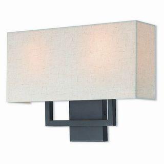 Livex Lighting 50995-07 Pierson Bronze Steel 2-light Wall Sconce