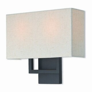 Livex Lighting 50994-07 Pierson Bronze-finished Steel 2-light Wall Sconce