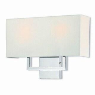Livex Lighting 50991-05 Pierson 2-light Polished Chrome Wall Sconce