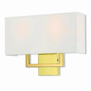 Livex Lighting 50991-02 Pierson 2-light Polished Brass Wall Sconce
