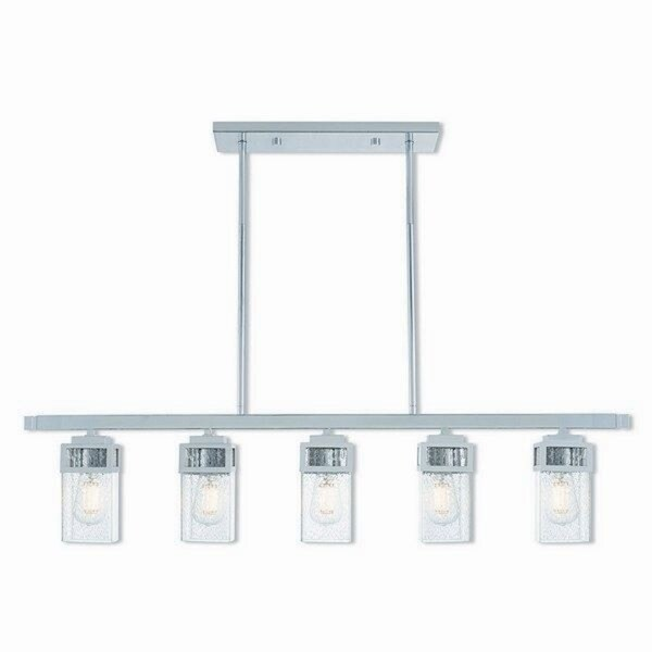 Livex Lighting 40594-05 Harding Polished Chrome Steel Indoor 5-light Chandelier