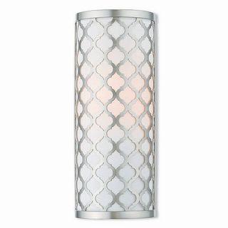 Livex Lighting 41100-91 Arabesque Brushed Nickel 1-light Wall Sconce