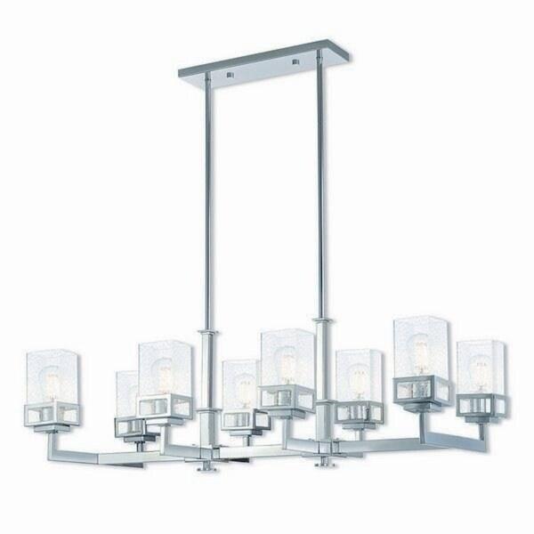 Livex Lighting Harding 8-light Polished Chrome Indoor Chandelier