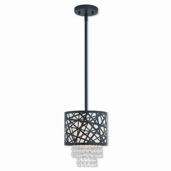 Livex Lighting 40661-07 Allendale Bronze 1-light Indoor Mini Pendant