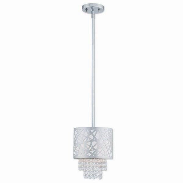 Livex Lighting 40754-05 Allendale Polished Chrome Steel Indoor 1-light Mini Pendant