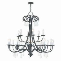 Livex Lighting 40870-92 Daphne Bronze 18-light Indoor Chandelier