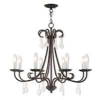Livex Lighting 40878-92 Daphne 8 light Bronze Indoor Chandelier