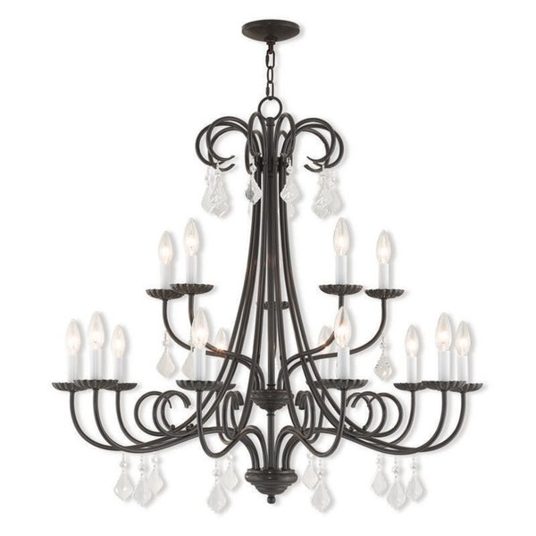 Livex Lighting Daphne 15-light Bronze Indoor Chandelier