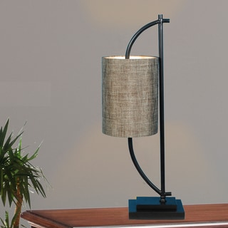Fangio Lighting's 32 in. Metal Table Lamp in a Bronze Finish