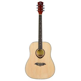 41-inch Fashion Circular Folk Guitars Natural
