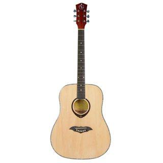 41-inch Fashion Circular Folk Guitars Natural