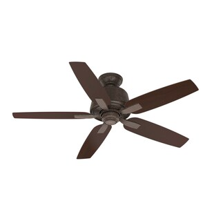 """Casablanca 54"""" Areto Ceiling Fan with Pull Chain - Industrial Rust"""