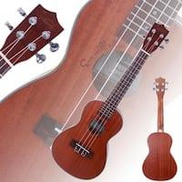 "Glarry UK207 26"" Tenor Rosewood Fingerboard Matte Sapele Ukulele"