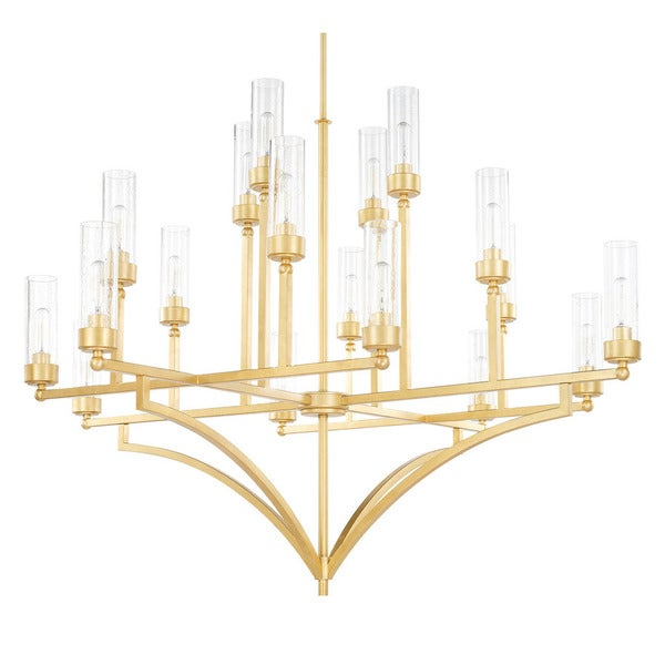 Capital Lighting Donny Osmond Regan Collection 18-light Capital Gold Chandelier