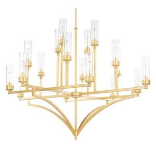 Capital Lighting Donny Osmond Regan Collection 18-light Capital Gold Chandelier