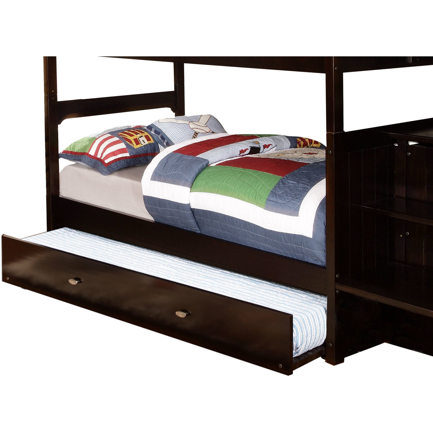 Cambridge Espresso Finish Wood Slide-out Trundle for Camb...