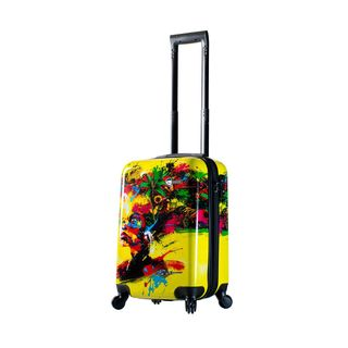 Mia Toro ITALY Prado Beautiful Minds 22-inch Carry On Hardside Spinner Suitcase
