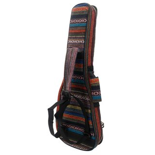 "Ethnic Style Cotton Padded Backpack for 23"" Ukulele Colorful"
