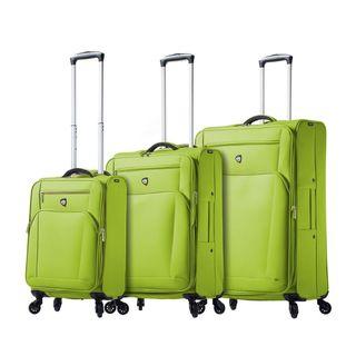 Deals on Mia Toro ITALY Aria 3-piece Expandable Spinner Luggage Set