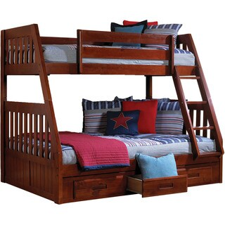 Cambridge Stanford Twin-over-full Bunk Bed With Twin Trundle
