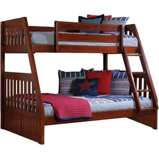 Cambridge Stanford Cherry Wood Bunk Bed