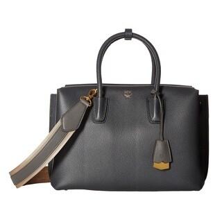 MCM Milla Medium Phantom Grey Tote Bag