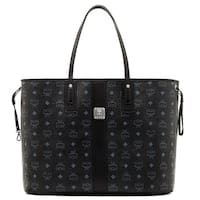 MCM Liz Reversible Large Black Tote Bag