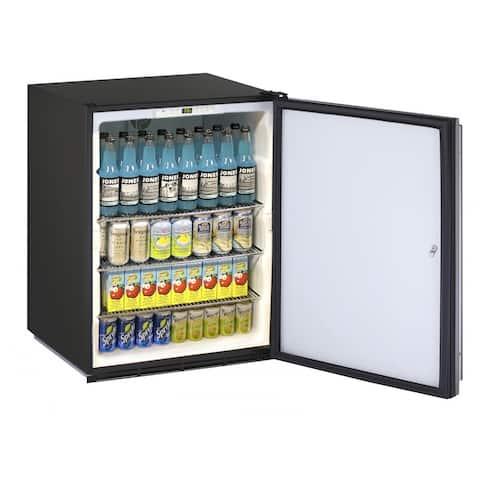 U-Line ADA Solid Refrigerator 24-inch Reversible Hinge Integrated 115v