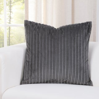 SIScovers Downy Storm Grey Accent Throw Pillows