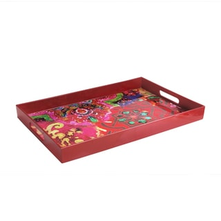 Tracy Potter Red Tray