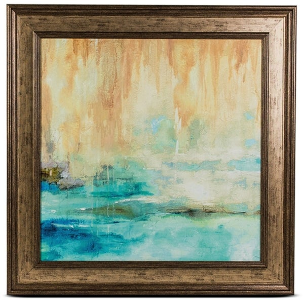Muted Framed Abstract Art