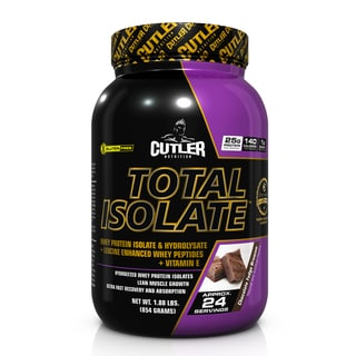 Cutler Nutrition Total Isolate (24 Servings)