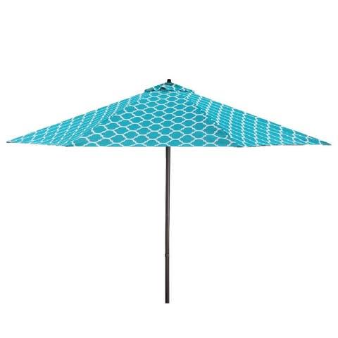 Lauren & Company 9' Moroccan Pattern Patio Umbrella, Base Not Included