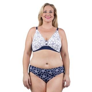 Xehar Women's Plus Size Two Piece Bikini Swimsuit (Option: 1x)