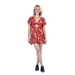 Xehar Women's Sexy Floral Short Romper